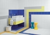 Carrelage pour mur en faïence brillante dim.20x20cm coloris gris - Câble HI-FI section 2x1,5mm² coloris transparent vendu à la coupe au ml - Gedimat.fr