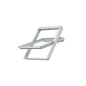 Fenêtre confort VELUX GGL UK08 type 2076 WHITE FINISH haut.140cm larg.134cm - Panneau de Particule Surfacé Mélaminé (PPSM) ép.19mm larg.2,07m long.2,80m Hêtre Purpurea finition Mat - Gedimat.fr