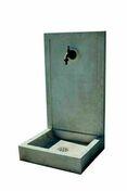 Fontaine SAVANE finition pierre H.76,5 x L.42 x P.38 cm - Fontaines - Puits - Plein air & Loisirs - GEDIMAT