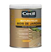 Saturateur SX620 bois de jardin - Produits de finition bois - Peinture & Droguerie - GEDIMAT