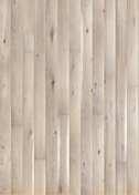 Parquet contrecollé monolame chêne choix various ép.14mm larg.130mm long.1092mm brossé verni mat crème - Porte seule gravée avec inserts à poser non inclus ESCALE haut.2,04m larg.73cm - Gedimat.fr