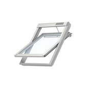 Fenêtre confort motorisée VELUX GGU INTEGRA SK06 type 007621 haut.118cm larg.114cm - Store d'occultation optimale beige DKL UK04 1085S - Gedimat.fr