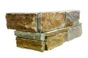 """Plaquette de parement ANTIGUA format """"Z"""" dim.15 x 55-60 x 2-4 cm quartzite - Poutrelle en béton PERFORMANCE 136SE haut.13cm larg.10cm long.4,50m - Gedimat.fr"""