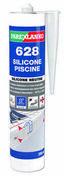 Mastic 628 SILICONE PISCINE gris - cartouche de 300ml - Pâtes et Mastics sanitaires - Plomberie - GEDIMAT