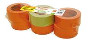 Lot 5 xP334 – Toile Façadier 25mx48mm orange + 1 Masquage 2060 50mx48mm  - Feutres géotextiles - Matériaux & Construction - GEDIMAT