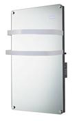 Sèche-Serviettes miroir rayonnant 1500W - Porte d'entrée Aluminium NAYO avec isolation totale de 100 mm en aluminium laqué gauche poussant haut.2,00m larg.90cm gris - Gedimat.fr