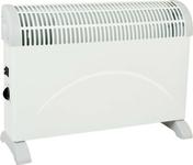 Convecteur TURBO PRIMO Long.5,9cm Haut.4,00cm Ép.13mm coloris Blanc 2000W - GEDIMAT - Matériaux de construction - Bricolage - Décoration