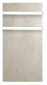 Sèche-serviettes inertie Sable blanc 1000W - Châtière GALLEANE 12 coloris silvacane littoral - Gedimat.fr