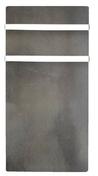 Sèche-serviettes inertie Sable lunaire 1000W - Elément droit de finition 200IG - 130 EM BL - Gedimat.fr