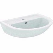 Lavabo ULYSSE blanc - 60x47cm - Lavabos - Salle de Bains & Sanitaire - GEDIMAT