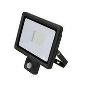 Projecteur LED 50W detec 6500K 4000ML IP44 Noir - Projecteurs - Baladeuses - Hublots - Electricité & Eclairage - GEDIMAT