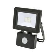 Projecteur LED 10W detec 6500K 800LM IP44 Gris - Projecteurs - Baladeuses - Hublots - Electricité & Eclairage - GEDIMAT