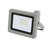 Projecteur LED 10W 6500K 800LM IP65 Gris - Projecteurs - Baladeuses - Hublots - Electricité & Eclairage - GEDIMAT