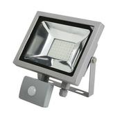 Projecteur LED 20W 6500K 1600LM IP65 Gris - Projecteurs - Baladeuses - Hublots - Electricité & Eclairage - GEDIMAT