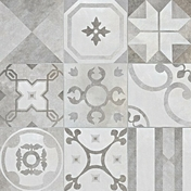 Décor sol contrast gris dim.45 x 45 cm ép.9 mm boîte de 1.02m² - Carrelages sols intérieurs - Cuisine - GEDIMAT