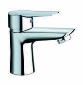 Mitigeur lavabo OPEN chromé - Radiateur sèche serviettes Goreli Blanc 500 W étroit - Gedimat.fr