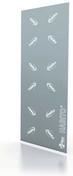 Plaque de plâtre standard HABITO BA13 - 2,50x1,20m - Laine de verre ISOCONFORT 35 revêtue kraft - 2,40x1,20m Ep.260mm - R=7,40m².K/W. - Gedimat.fr