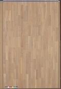 Parquet contrecollé SAMBA click en HDF ép.10mm larg.14cm long.1,19m chêne blanchi verni - Parquet contrecollé SAMBA click en HDF ép.10mm larg.14cm long.1,19m chêne naturalsong verni - Gedimat.fr