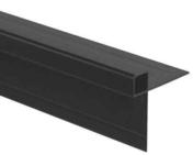 Angle extérieur ép.53mm larg.53mm long.3m Noir - Habillages de façade - Matériaux & Construction - GEDIMAT