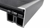 Cornière aluminium Long.2,85m larg.51mm Ép.20mm coloris Gris - Terrasses en bois - Aménagements extérieurs - GEDIMAT