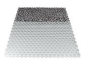 Stabilisateur de graviers 116,6 x 160 cm - Doublage polystyrène expansé hydrofuge PLACOMUR P marine 13+100 - 2,70x1,20m - R=2,65m².K/W - Gedimat.fr