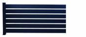 Clôture MERLIN en aluminium laqué Haut.0,8m larg.1,93m 7016 Coloris Gris - Ecrans - Clôtures - Menuiserie & Aménagement - GEDIMAT