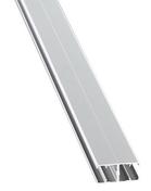 Profil H CONNEXION pour verre synthétique long.3.00m - Clins - Bardages - Couverture & Bardage - GEDIMAT