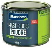 Mastic bois poudre bi-composant avec eau chêne clair - pot 500g - Mastics - Peinture & Droguerie - GEDIMAT
