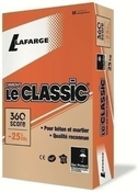 Ciment LE CLASSIC CEM II/B-ll 32,5 R CE NF - sac de 35kg - Bloc béton creux B40 NF ép.10cm haut.20cm long.50cm - Gedimat.fr