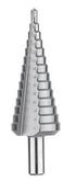 Foret étagé HSS Standard goujure droite diam.4-30mm DIAGER - Consommables et Accessoires - Outillage - GEDIMAT