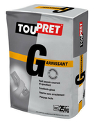 ENDUIT GARNISSANT TOUPRET G 25KG - Peinture de retouche pour bardage HardiePlank pot de 0,5 litre Blanc Arctique - Gedimat.fr