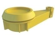 Clip plenum INTEGRA 2 - boite de 50 pièces - Accessoires plaques de plâtre - Isolation & Cloison - GEDIMAT
