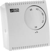 Thermostat filaire pour chauffage et climatisation TYBOX 10  Haut.82mm Long.75mm Prof.31mm - Domotique - Electricité & Eclairage - GEDIMAT