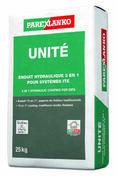 Mortier hydraulique UNITE G00 naturel - sac de 25kg - Gedimat.fr