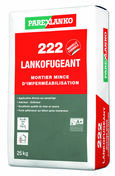 Mortier d'imperméabilisation 222 LANKOFUGEANT - sac de 25kg - Etanchéité des terrasses - Matériaux & Construction - GEDIMAT