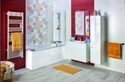Radiateur sèche-serviettes MARAPI Long.50cm H.108cm Ép.13cm coloris Blanc 500W SAUTER - Chauffage salle de bain - Chauffage & Traitement de l'air - GEDIMAT