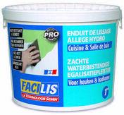 Enduit de lissage cuisine et bain - seau de 1kg - Enduits de lissage - Peinture & Droguerie - GEDIMAT