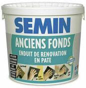 Enduit de rénovation SEMIN ANCIENS FONDS - seau de 15kg - Enduits de lissage - Peinture & Droguerie - GEDIMAT
