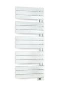Radiateur sèche-serviettes ASYMÉTRIQUE DIGITAL Long.50cm Haut.11,9cm Ép.10cm coloris Blanc 500W - Chauffage salle de bain - Salle de Bains & Sanitaire - GEDIMAT