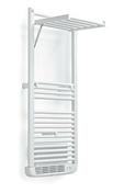 Radiateur sèche-serviettes STENDINO SOUFFLANT Long.50cm Haut.143,3cm Ép.13,6 (Fermé) 40 (Ouvert) cm 1750W coloris Blanc - Chauffage salle de bain - Chauffage & Traitement de l'air - GEDIMAT