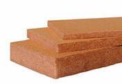 Fibre de bois PAVAFLEX CONFORT - 1,22x0,575m Ep.200mm - R=5,25 m².K/W - Contreplaqué intérieur Combi Peuplier/Okoumé COMBIPLAK ép.12mm larg.1,53m long.3,10m - Gedimat.fr