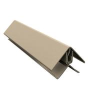 Cornière PVC de finition en L pour bardage cellulaire original 50 x 100 mm Long.5 m Beige - Clins - Bardages - Revêtement Sols & Murs - GEDIMAT