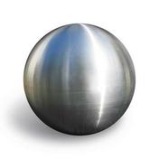 Sphere déco inox mat diam.30cm - Sables - Graviers - Galets décoratifs - Revêtement Sols & Murs - GEDIMAT