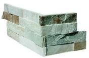 Angle de parement INKA dim.20/40 x 15 x 1-2 cm - Plaquette de parement pierre naturelle beige/gris nuancé INKA 15cm x 55-60cm x 1-2cm - Gedimat.fr