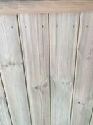 Couvertine de finition pour clôture antibruit en Pin Sylvestre ép.3.5cm larg.13cm long.1.98m - Piliers - Murets - Aménagements extérieurs - GEDIMAT