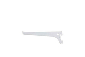 Console simple Entraxe 50mm L.200mm Charge max.55kg coloris Blanc - Crémaillères - Consoles - Outillage - GEDIMAT