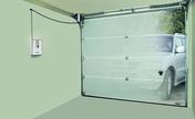 Automatisme porte de garage sectionnelle NOVOPORTE IV ES 2 émetteurs - Portes de garage - Menuiserie & Aménagement - GEDIMAT