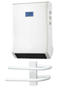 Soufflant sèche-serviette 2000W. 2 allures de chauffe 1000/2000W - Chauffage salle de bain - Chauffage & Traitement de l'air - GEDIMAT