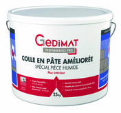 Colle pâte spécial pièce humide D2 25 kg GEDIMAT PERFORMANCE PRO - Tuile à douille AQUITAINE diam.150mm coloris paysage - Gedimat.fr