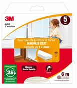JOINT MAUVAIS ETAT CLASSIQUE BLANC 6M - Colles - Joints - Revêtement Sols & Murs - GEDIMAT